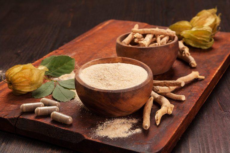 Ashwagandha hilft bei der Stressreduktion und der Gewichtskontrolle
