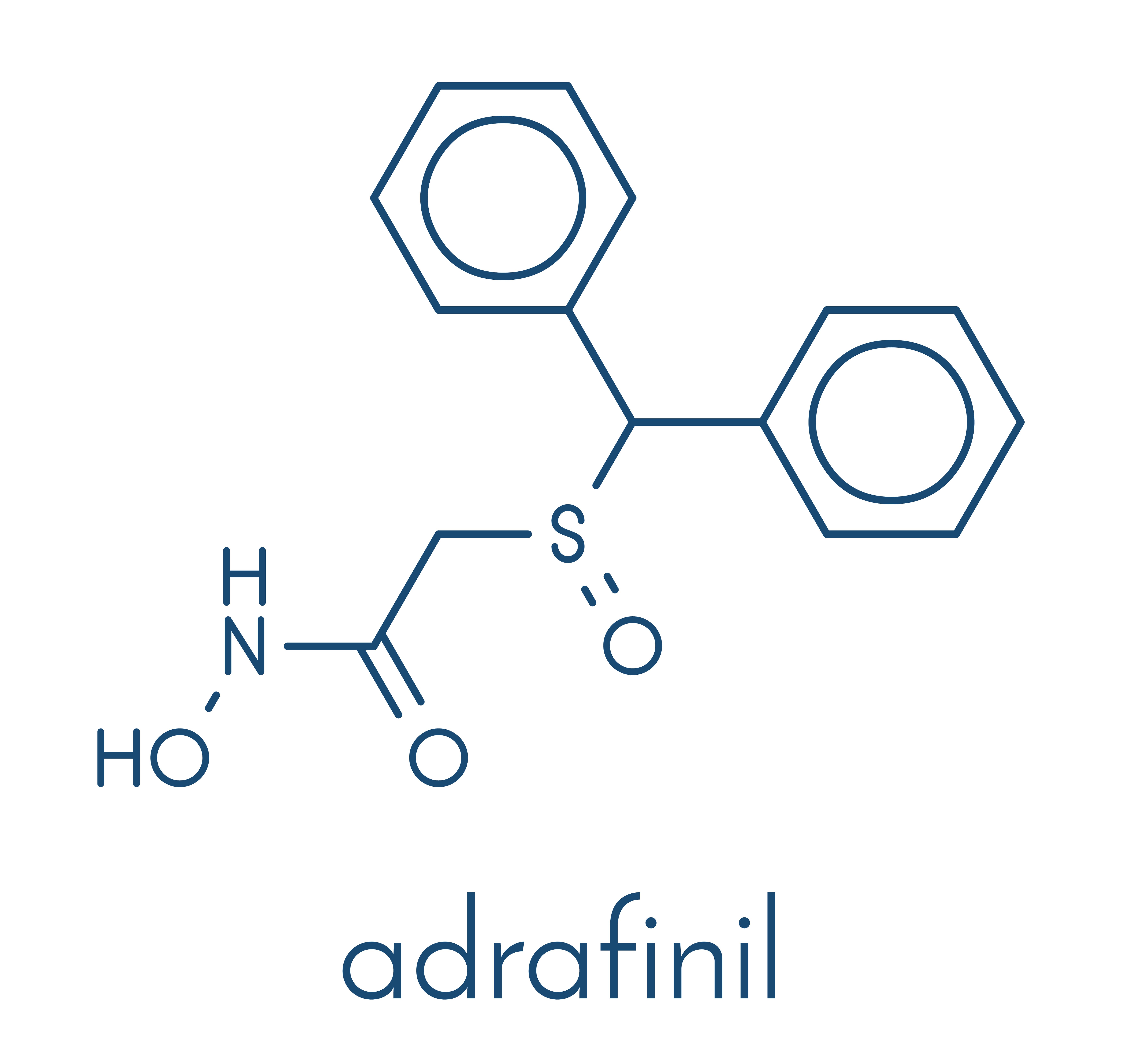 Chemische Struktur von Adrafinil