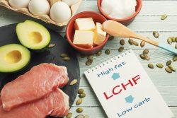 LCHF-Diät, also fettreich und kohlenhydratarm